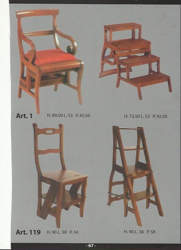 Sedie for Fiusco arredi catalogo